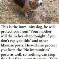 immunity doggo