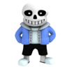 Sans the skelleton