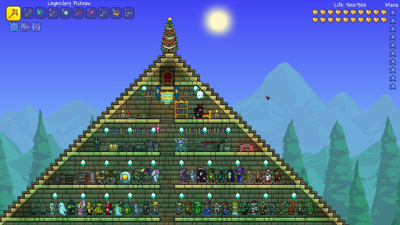 how to put seeds in terraria