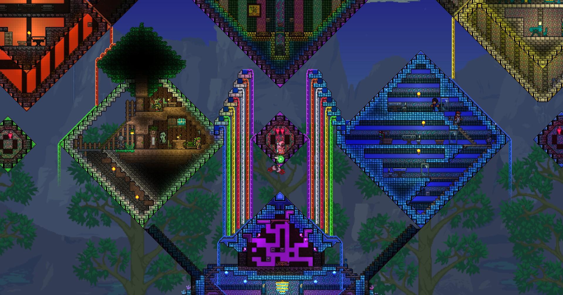 terraria how to become rainbow