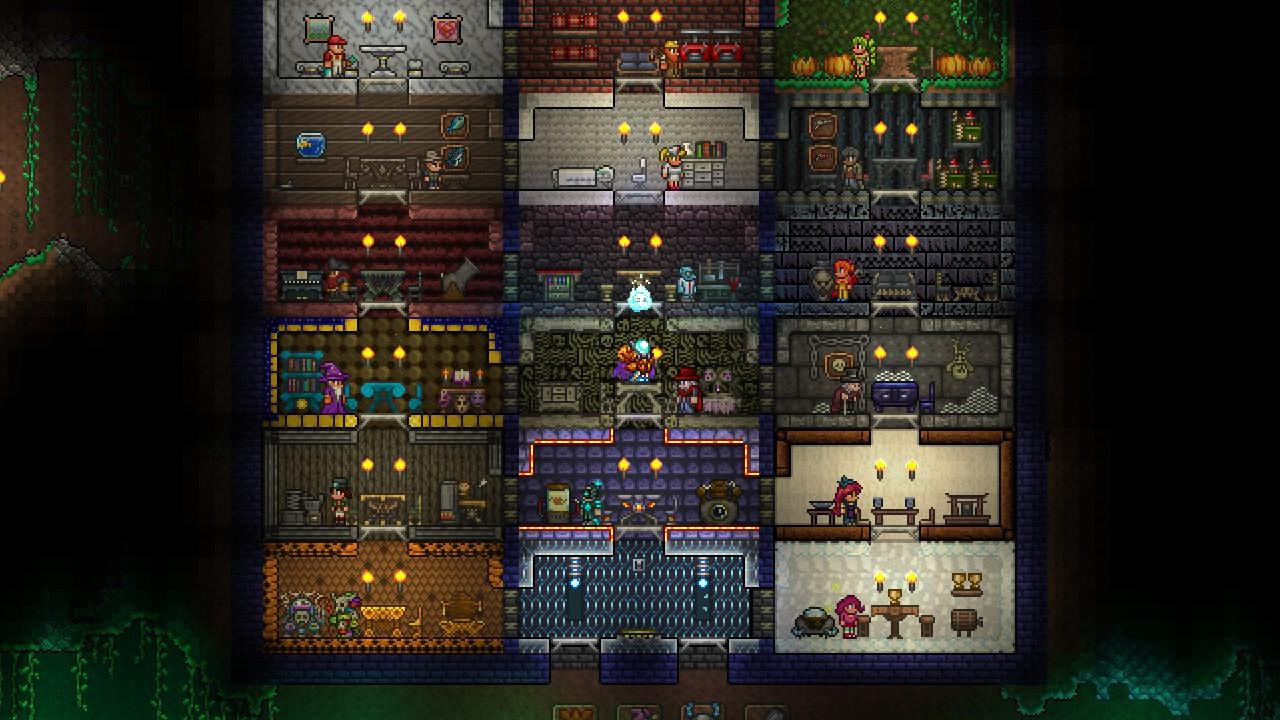 ... make a house for each NPC, I need ideas! | Terraria Community Forums