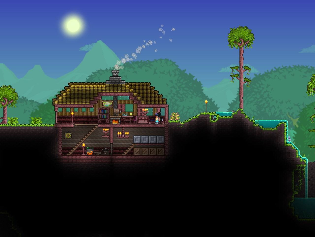 Pc Jungle House Terraria Community Forums