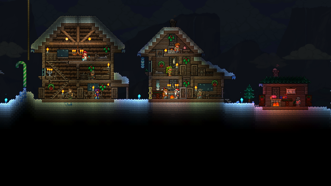 Terraria Christmas House.Official The Tcf Christmas Contest Submission Thread