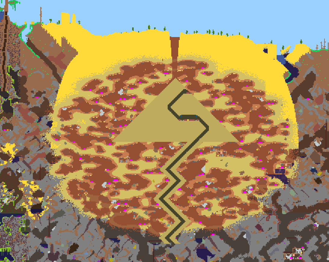 Pc share your map seed pc 134 beyond page 5 terraria 872077g gumiabroncs Images