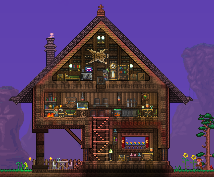 Pc Ballin Houses By Eiv Page 4 Terraria Community