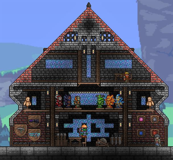 Fancy Terraria Npc House Designs