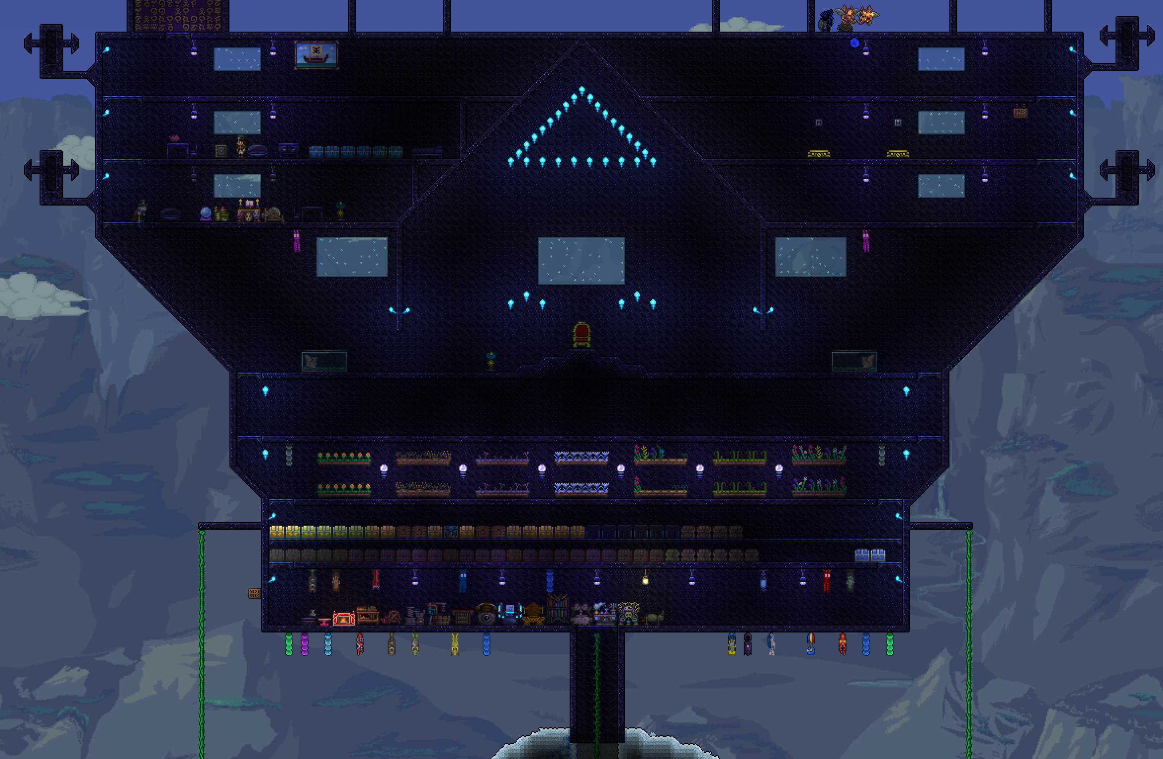 Post Your Storage Rooms Terraria Community Forums