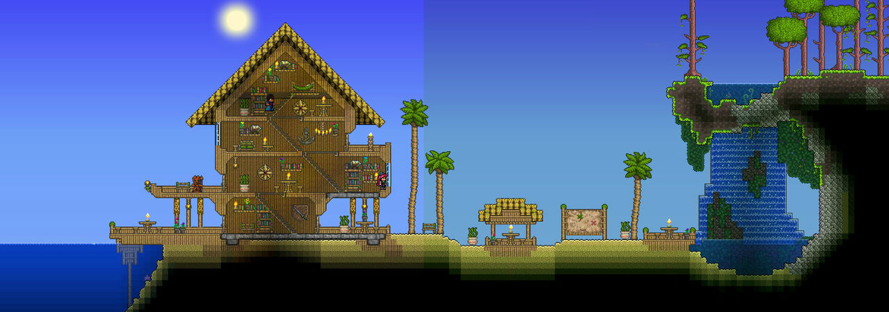 Share Your Aesthetic Building Techniques Terraria
