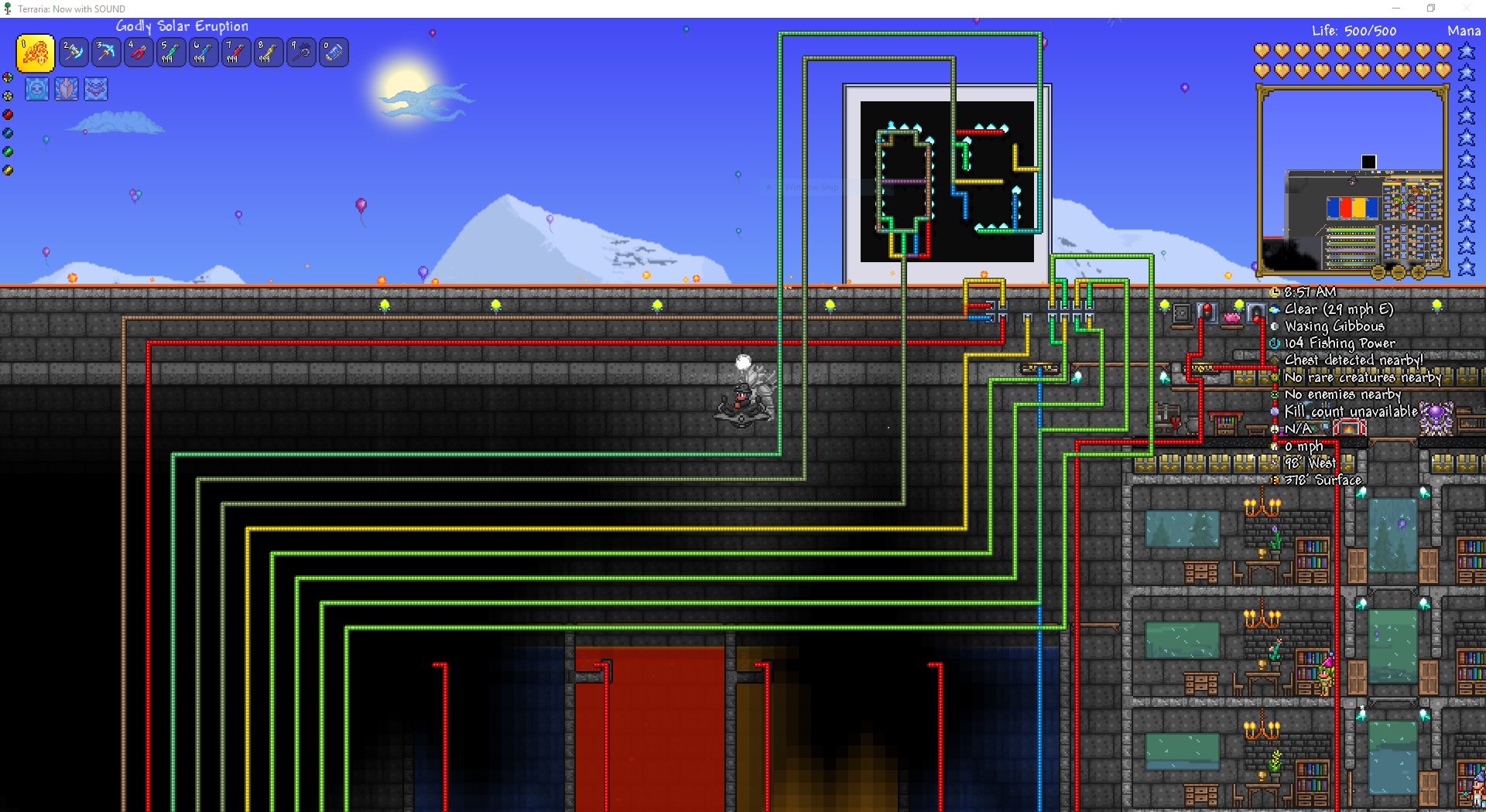 Pc Showcase A Compact 32 Destination Teleporter Hub With Display And 2 Click Input Terraria Community Forums For purposes of trope differentiation. a compact 32 destination teleporter hub