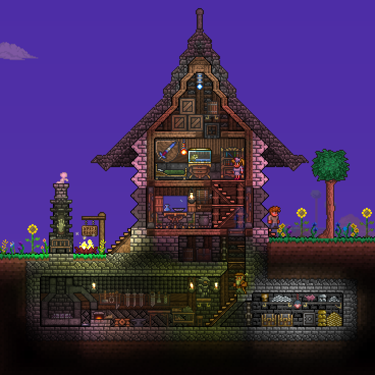 Pc Ballin Houses By Eiv Page 3 Terraria Community