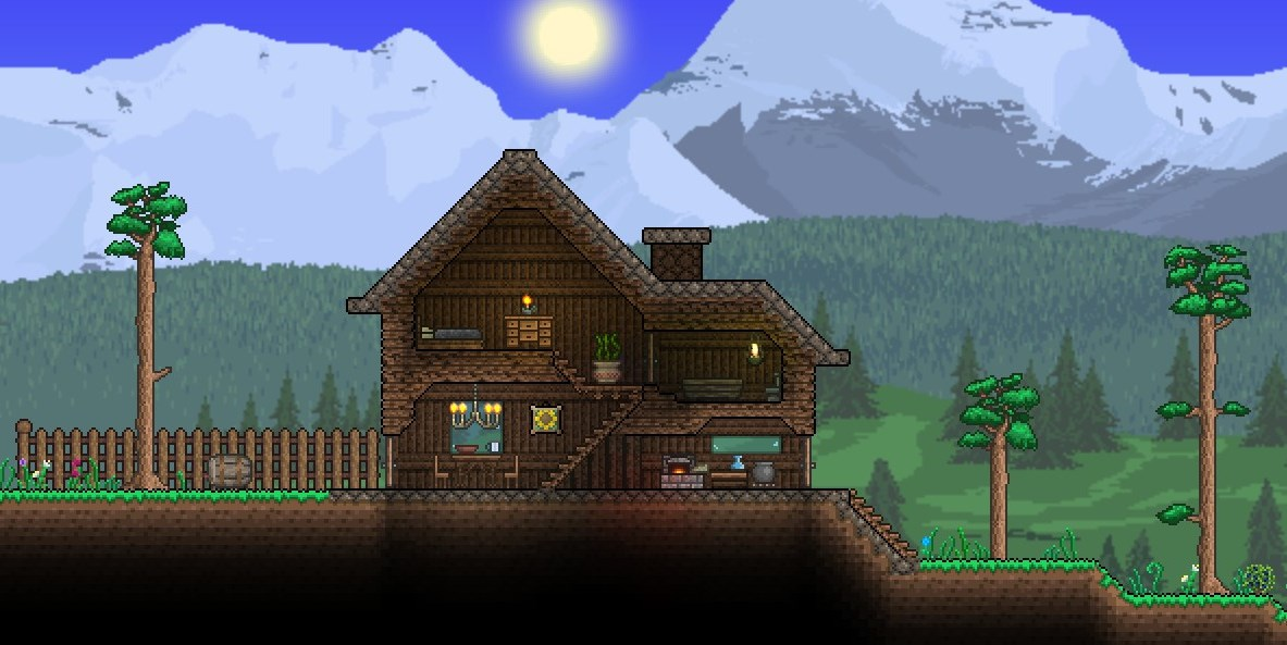 What Does Your House Look Like Page 2 Terraria Community Forums