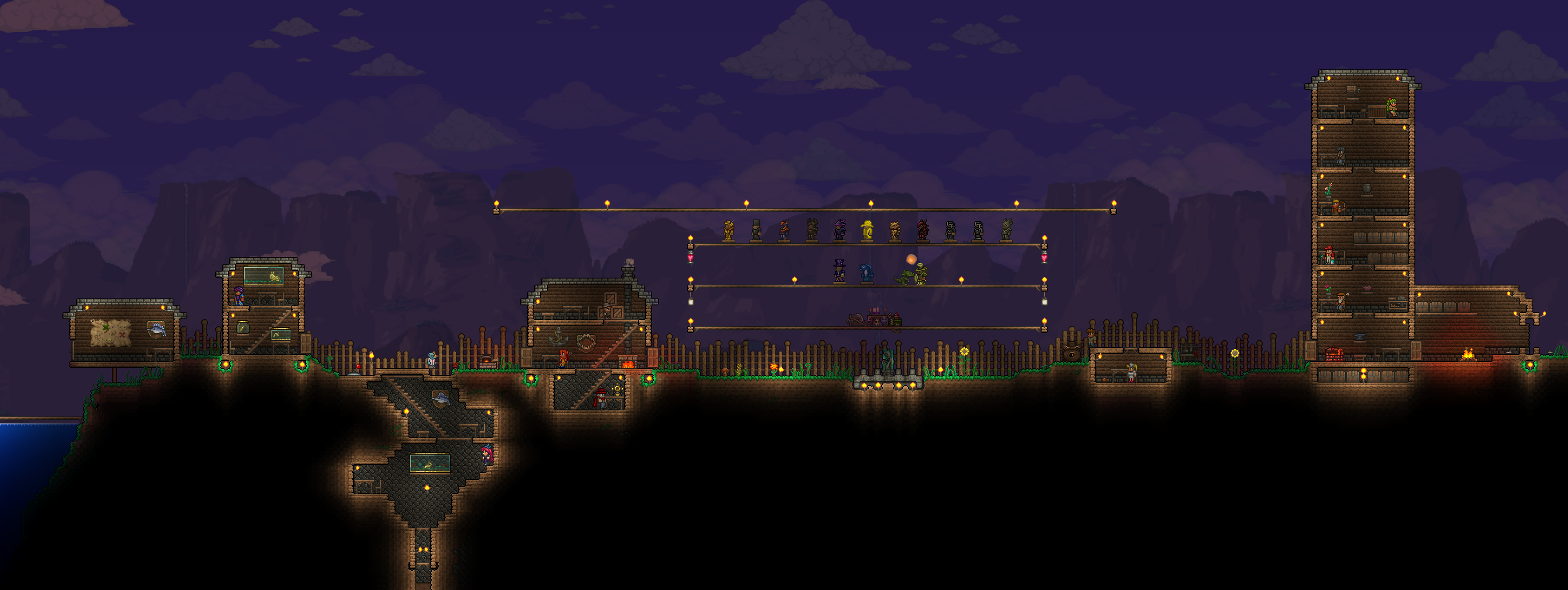 Pre Hardmode 1 3 Base Terraria Community Forums
