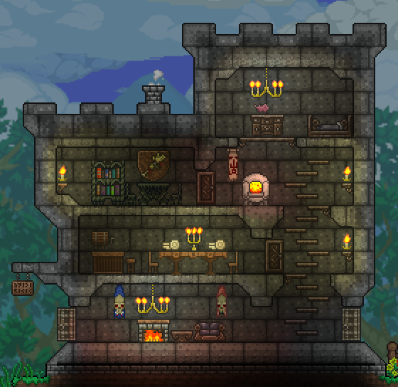 PC My New Terraria 13 World Community Forums