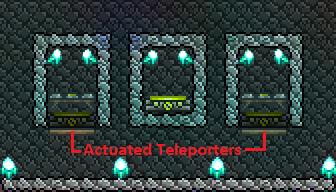 Teleporter Jump Pods Terraria Community Forums It's obsidian, the black stone brick. teleporter jump pods terraria