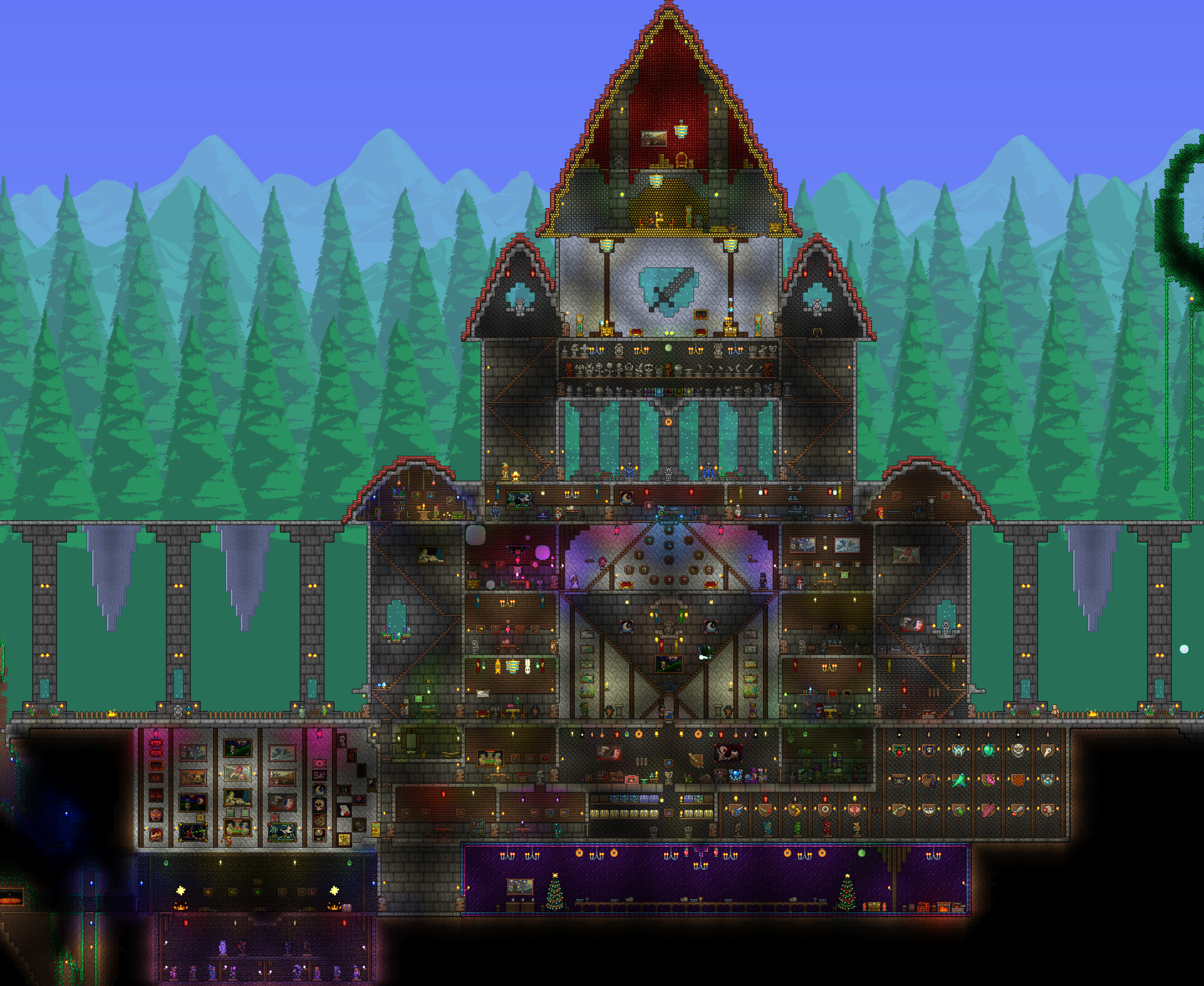My Castle Terraria Community Forums Interiors Inside Ideas Interiors design about Everything [magnanprojects.com]
