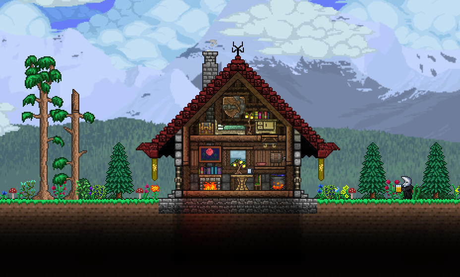 Pc ballin 39 houses by eiv page 11 terraria community for Home design reddit