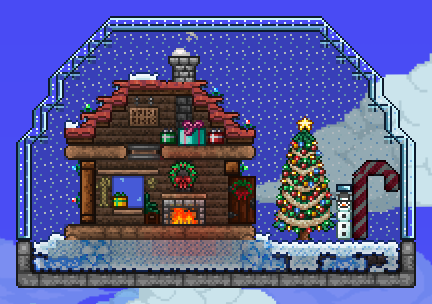 Terraria Christmas.Pc Fox S Builds Terraria Community Forums