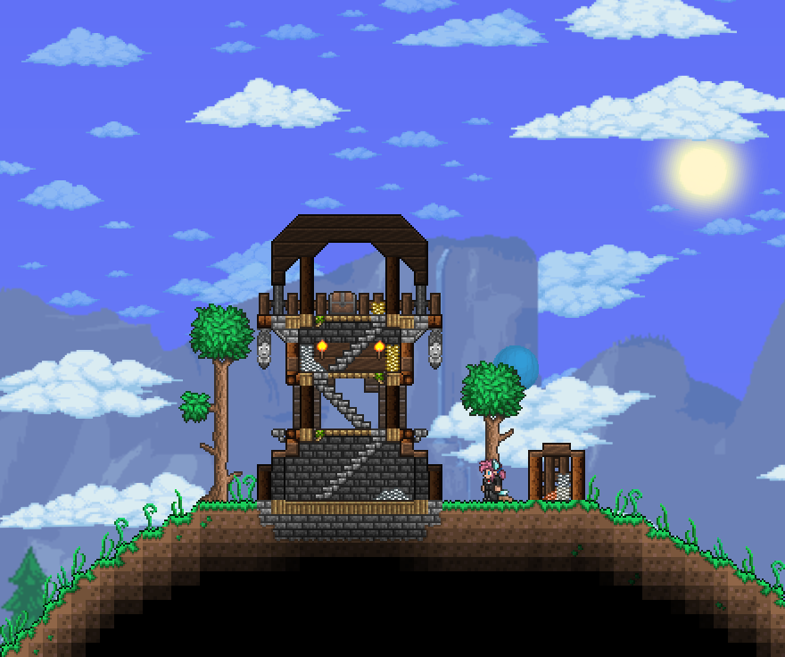 A Pillager Outpost