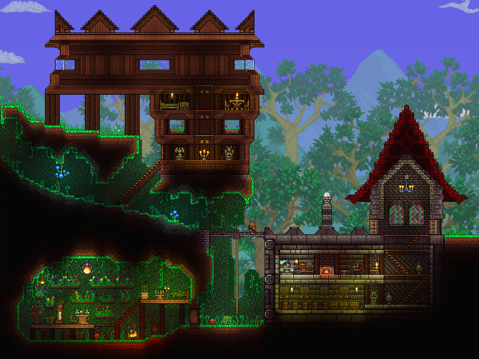 Pc Ballin Houses By Eiv Page 10 Terraria Community
