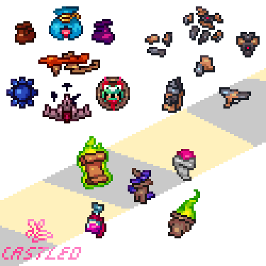 Some Items in the mod