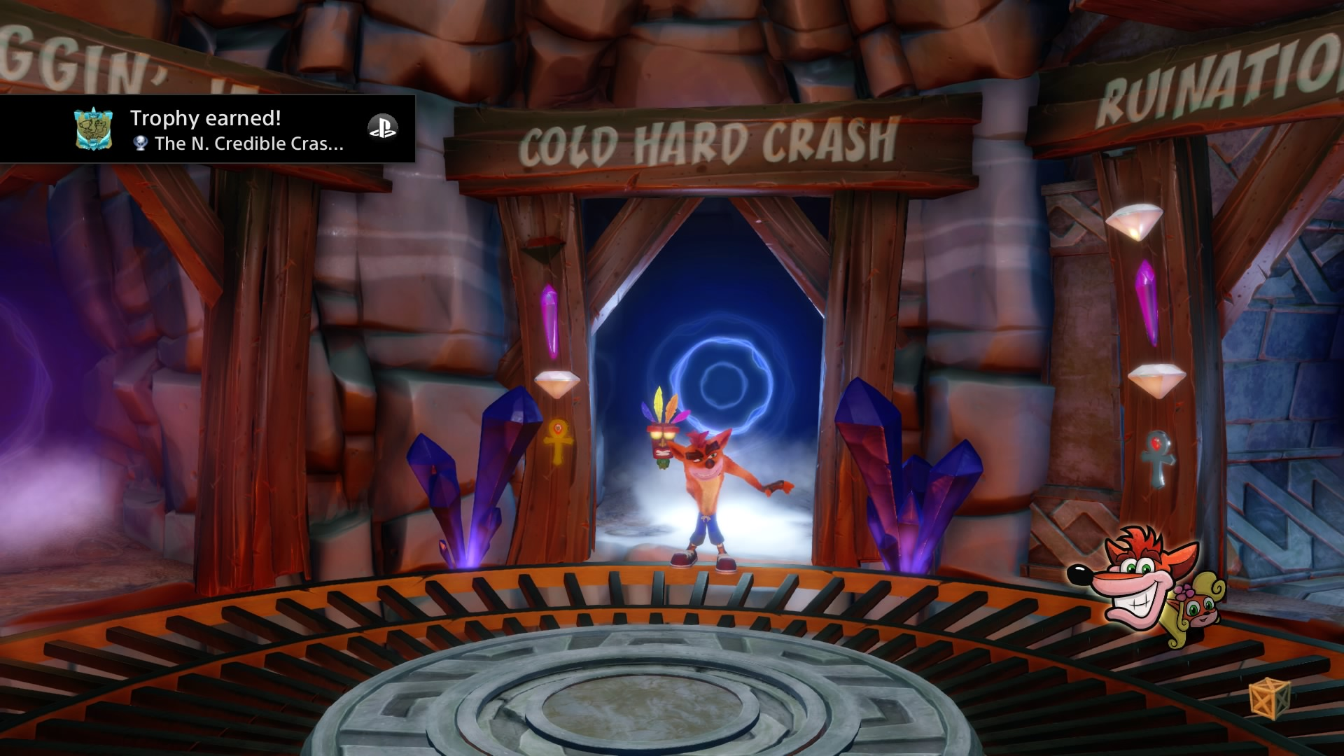 Crash Bandicoot 2_ Cortex Strikes Back Platinum Trophy.jpg