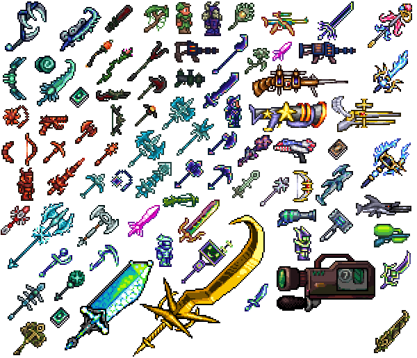 List Of Synonyms And Antonyms Of The Word: Terraria Sprites