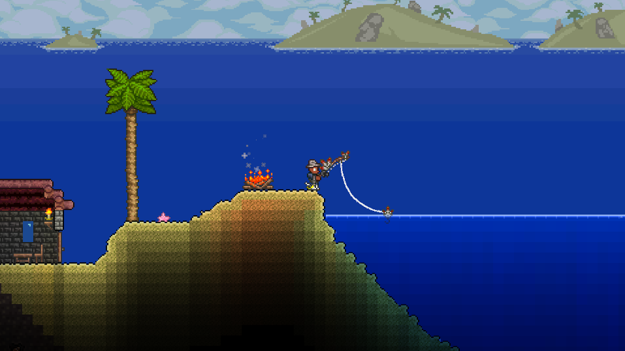 Fishing terraria all about fish for Fishing poles terraria