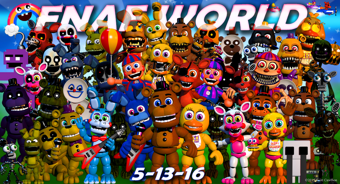 PC - Five Nights at Freddy's discussion thread   Page 161