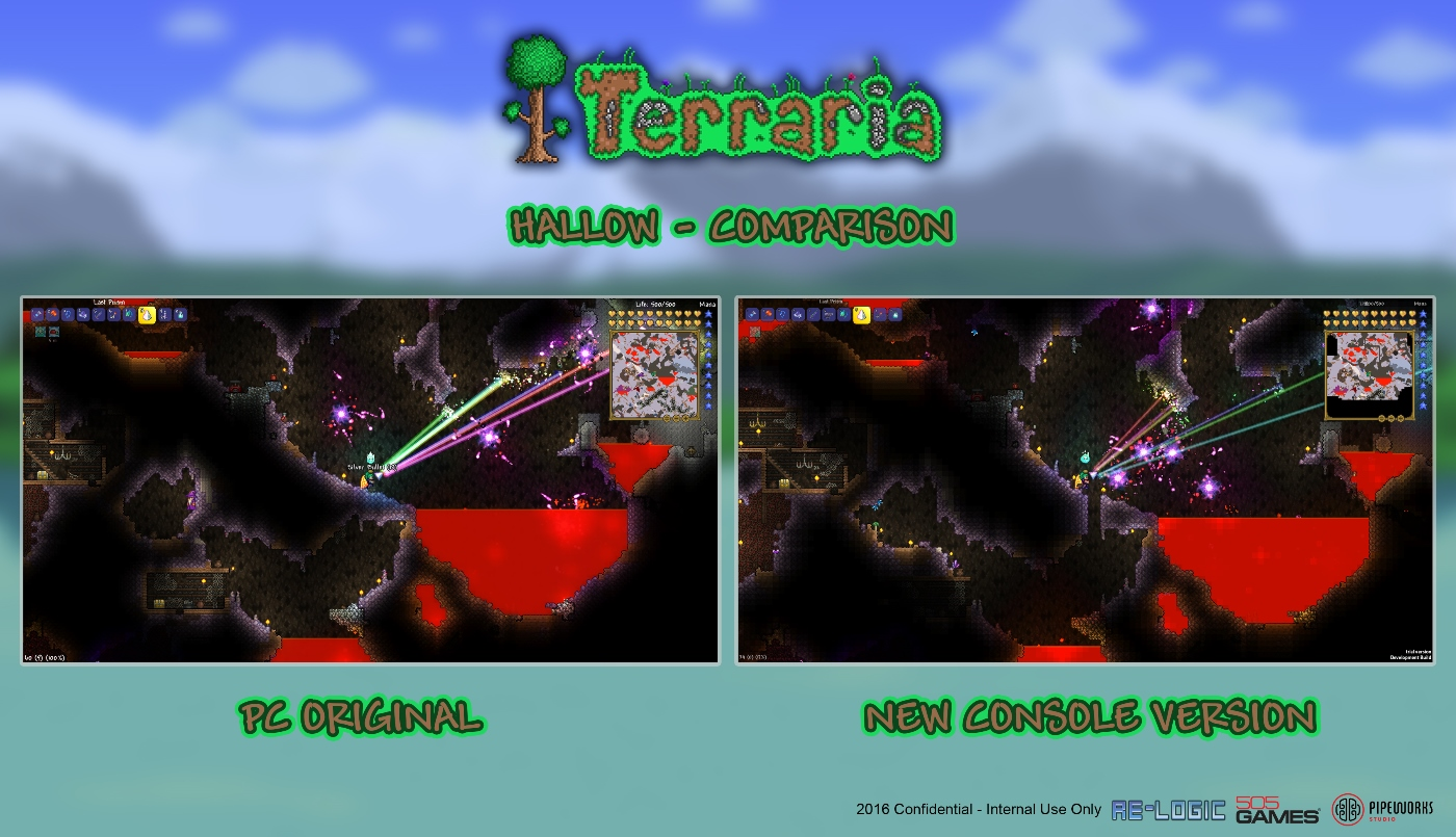 terraria how to open console