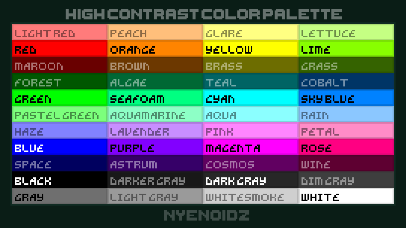 High Contrast - Palette Table (Transulcent Non-OG Colors) x3.png