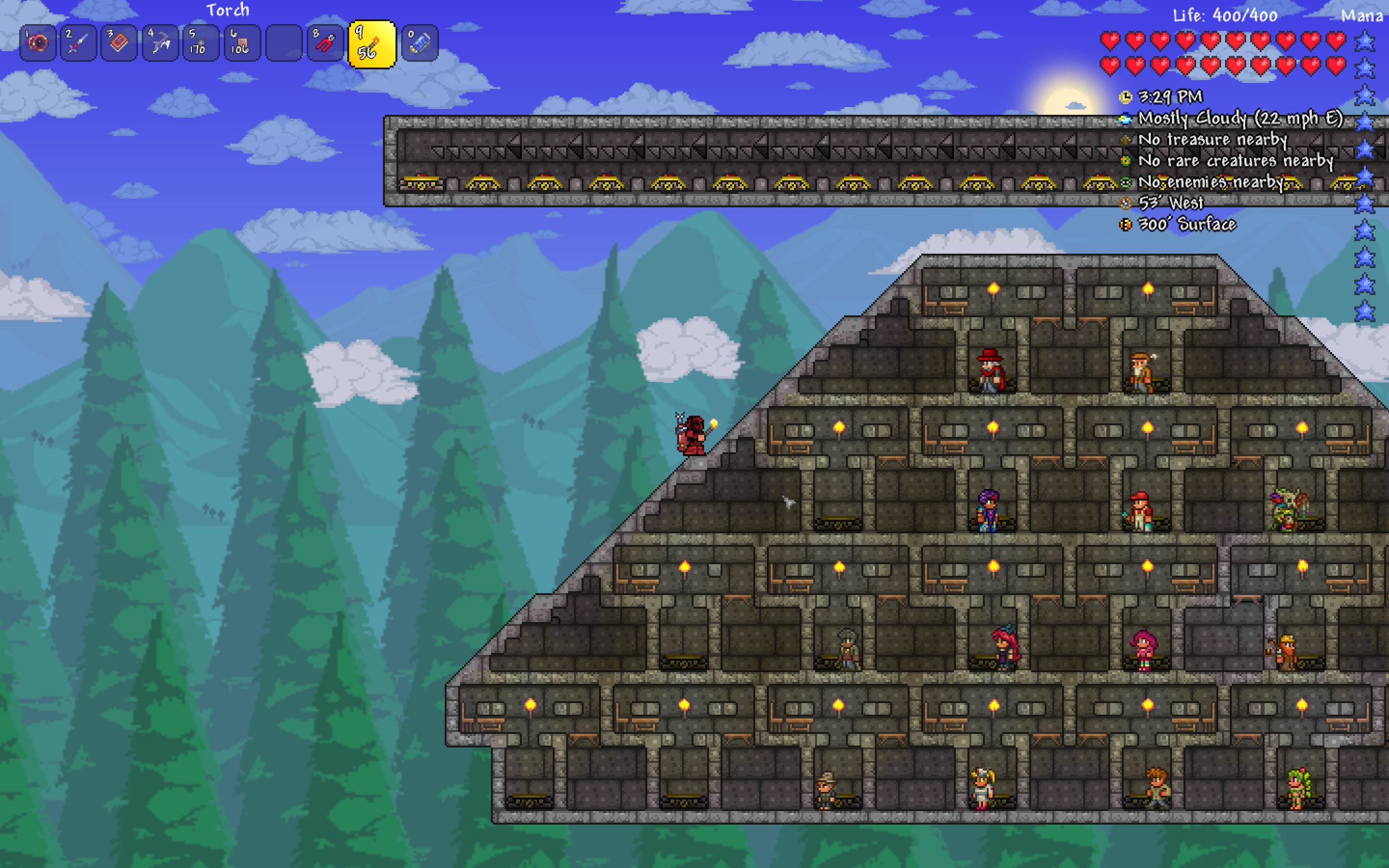 Guide Project Npc Dispenser Terraria Community Forums Your bestiary will give you details of who likes what and why, which makes placing npcs a little easier. guide project npc dispenser