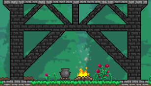 How do I change walls to look like this? | Terraria