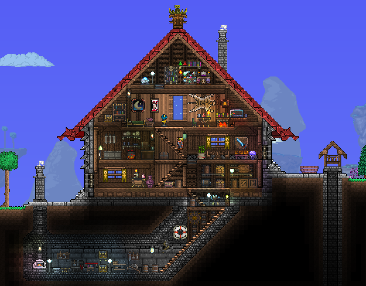 Pc Ballin Houses By Eiv Page 7 Terraria Community