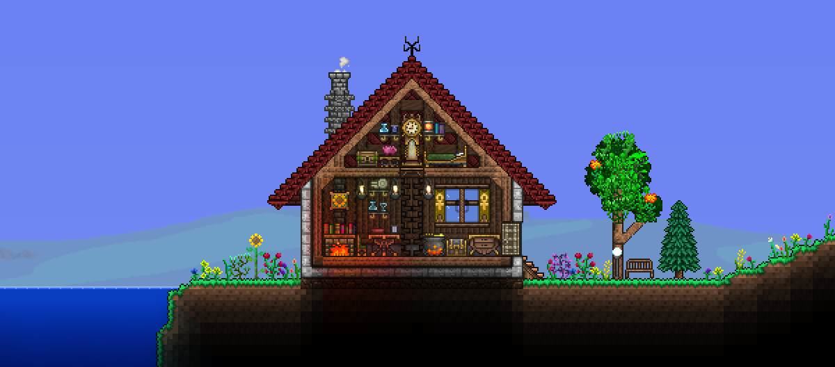 Pc Ballin Houses By Eiv Page 8 Terraria Community