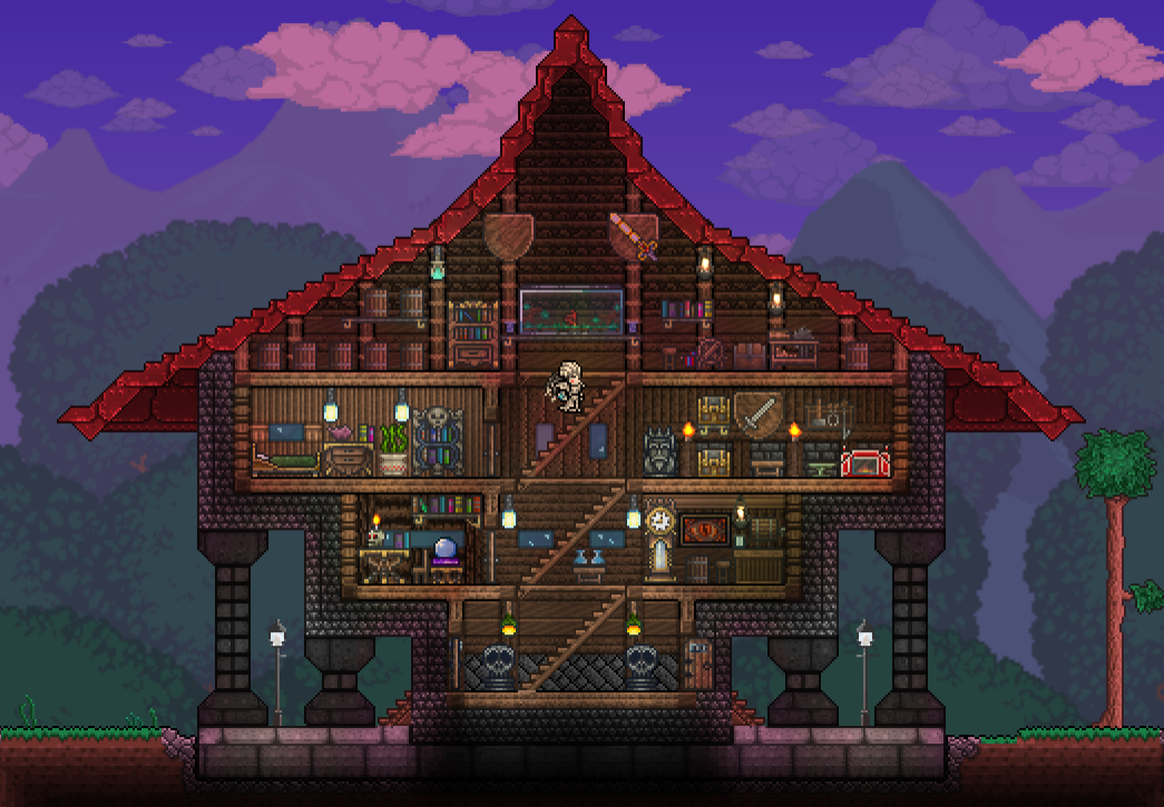 Pc Ballin Houses By Eiv Terraria Community Forums