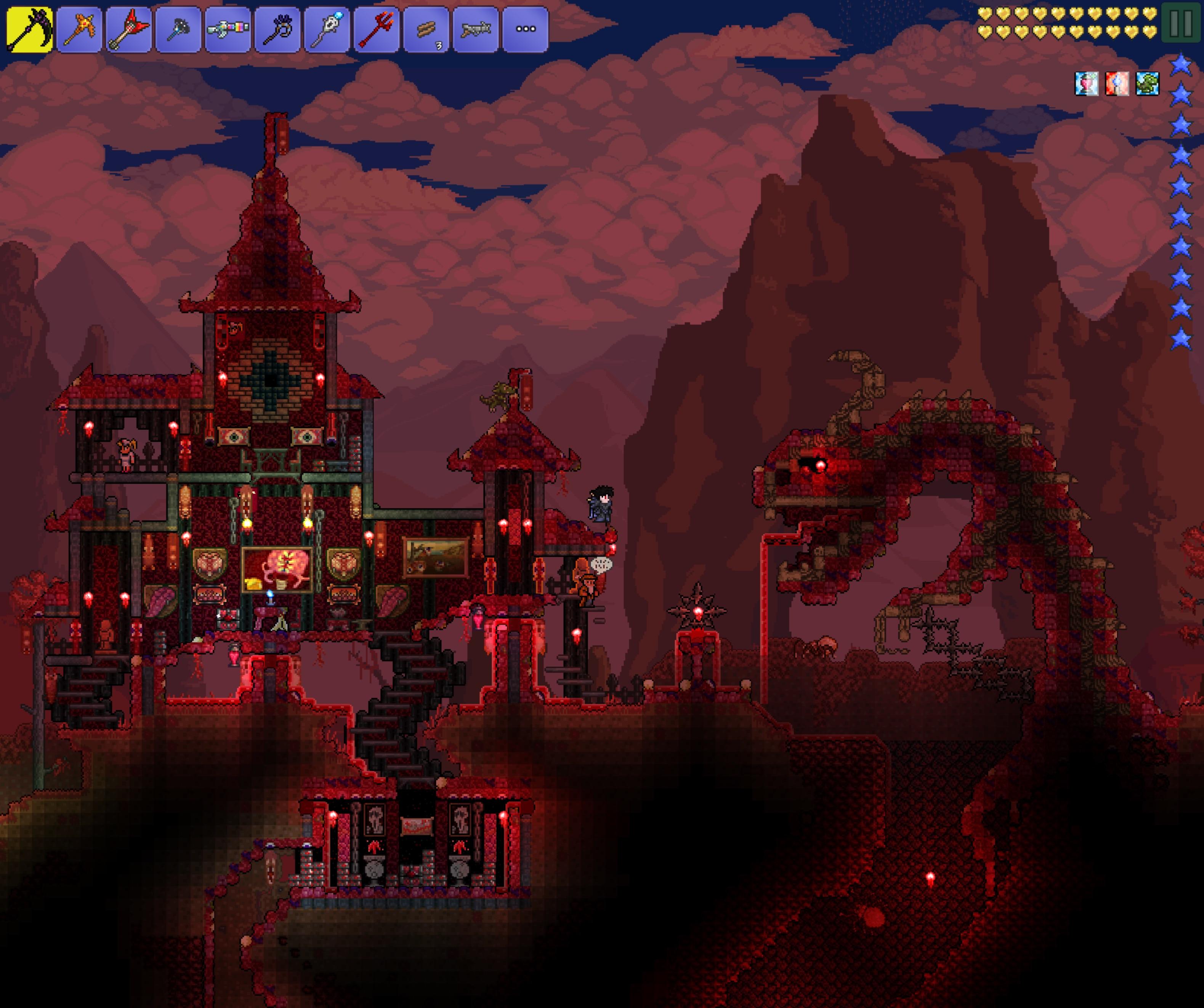 Corrupt And Crimson Castles Terraria Community Forums