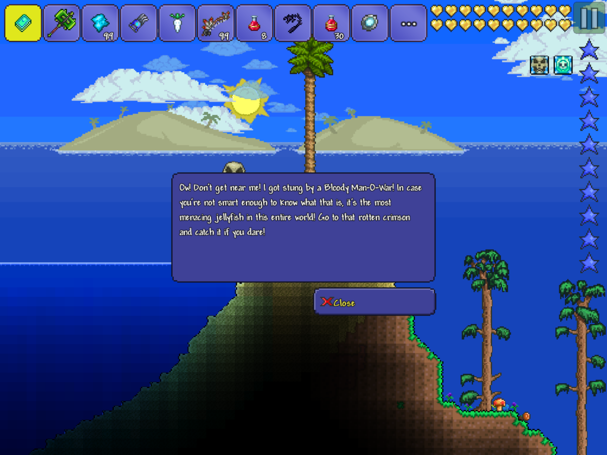 Mobile Shadows List Of Current Mobile Terraria Bugs Terraria