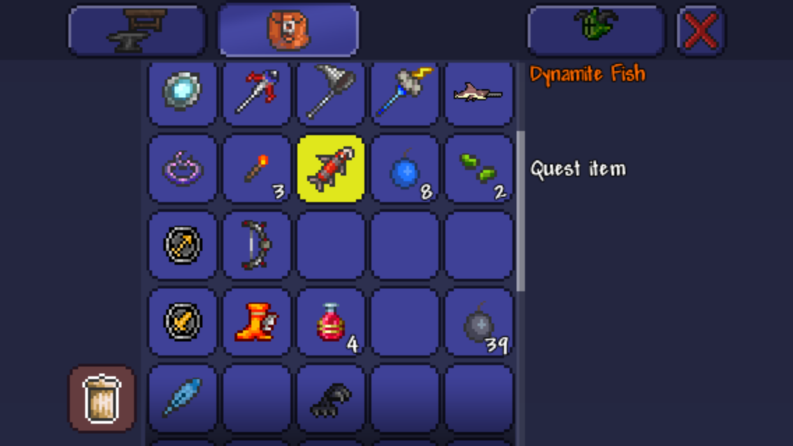 Mobile - Fishing quest support thread | Terraria Community