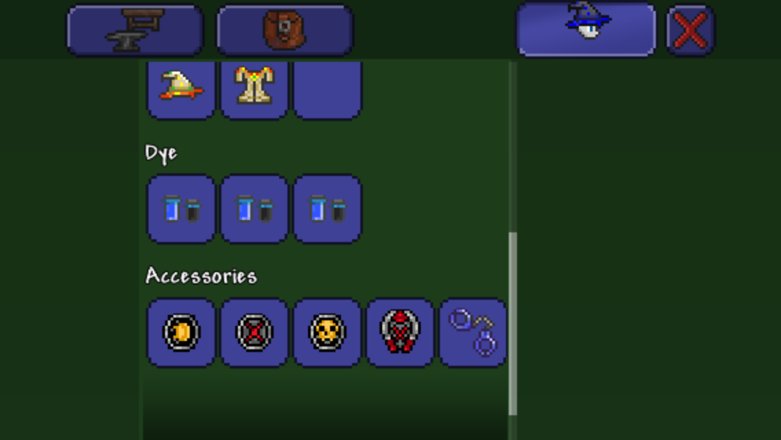 Mobile What Is Your Class Loadout Terraria Community Forums