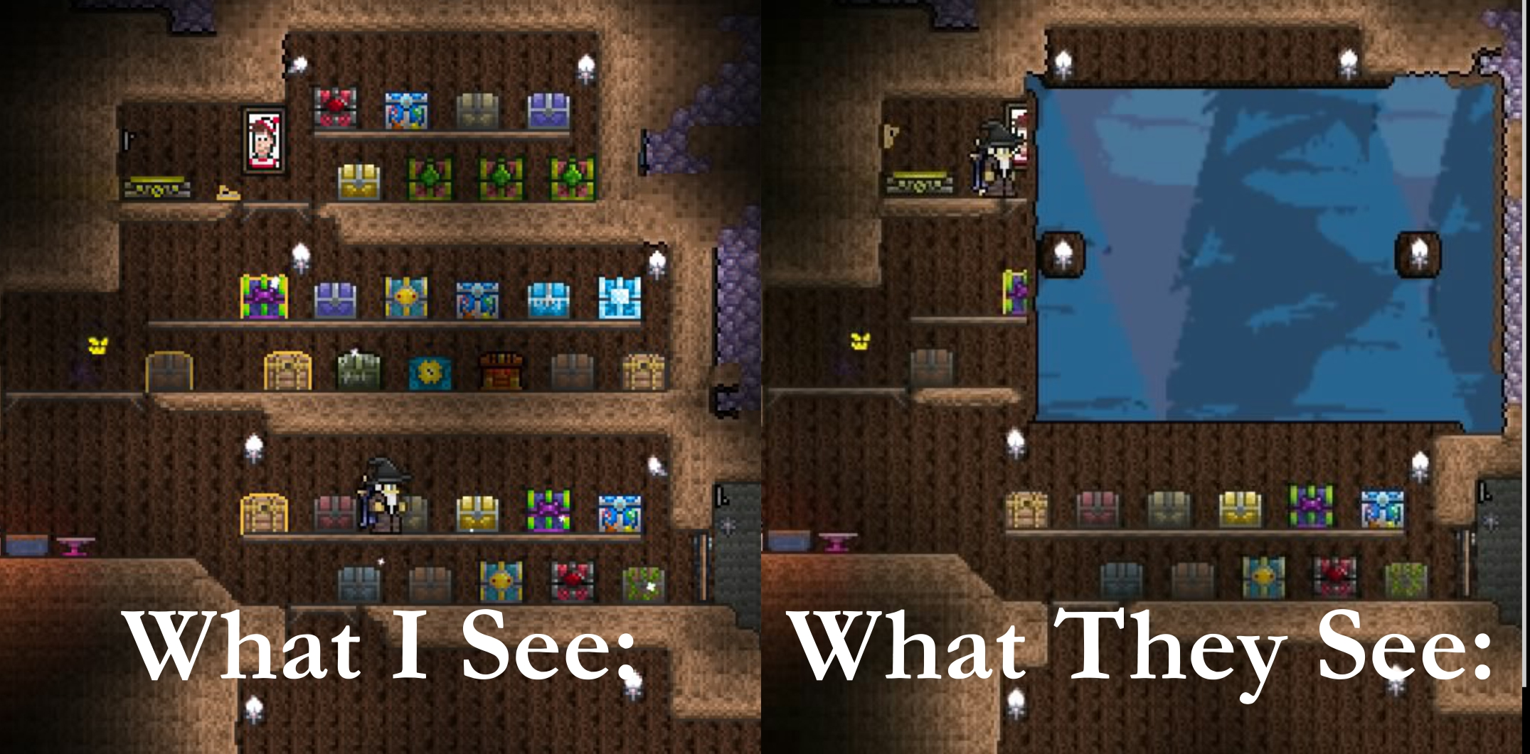 Console The Various Glitches Of Console Terraria Terraria Community Forums