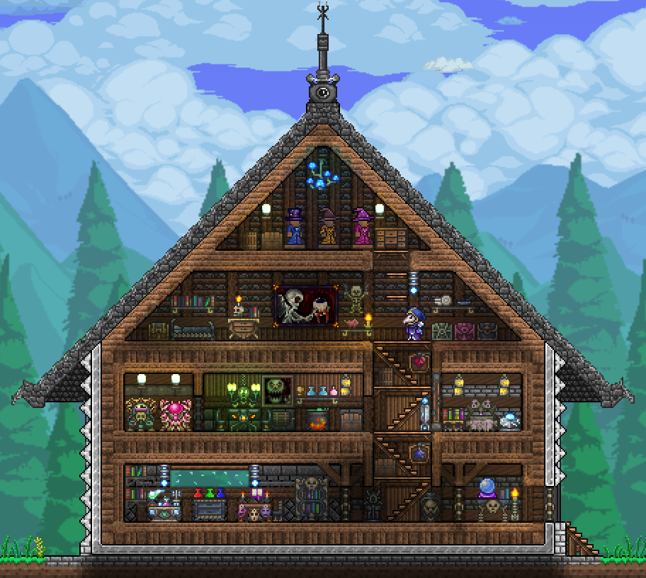 Pc Ballin Houses By Eiv Page 6 Terraria Community