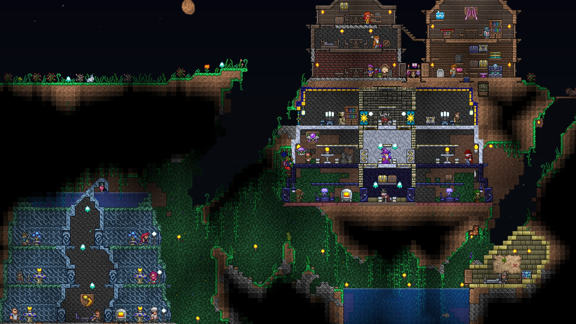 Is Generation Of Hallow And Crimcor On Wof Death Fixed Terraria