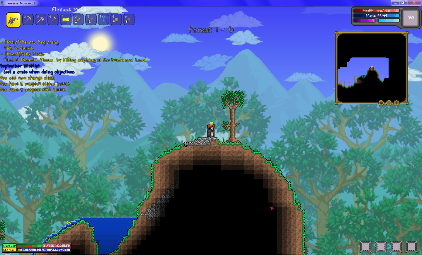 Standalone - N Terraria Mod: RPG, Races, Classes, Quests, and other