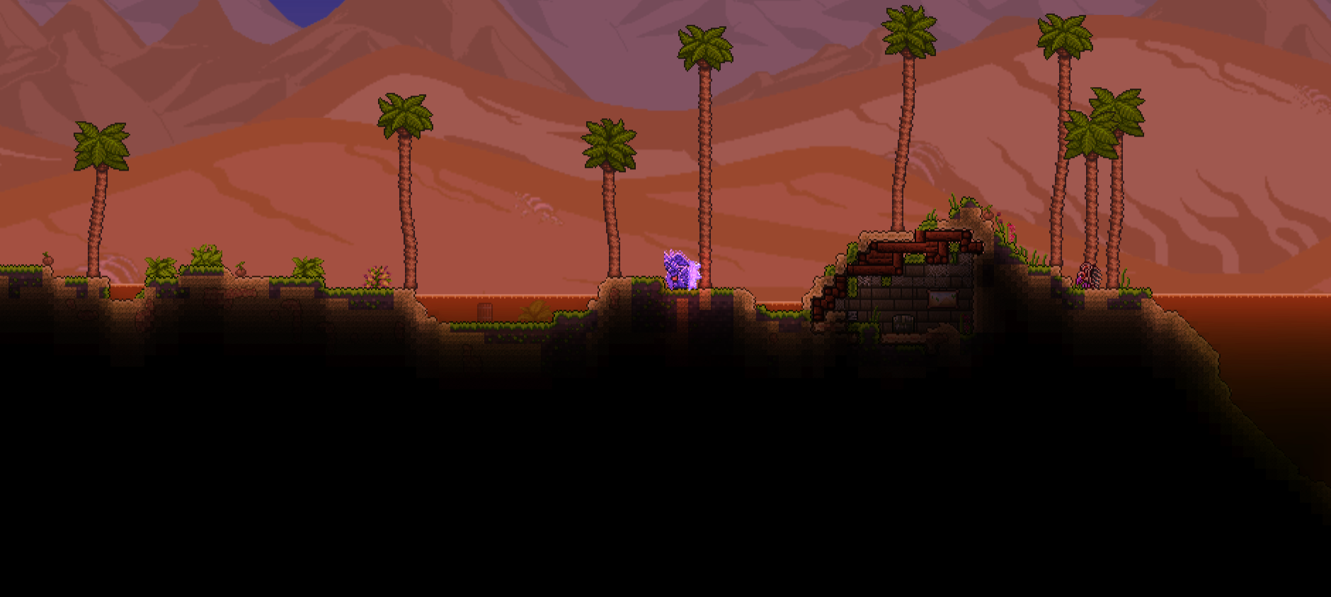 Pc Custom Biome Oasis Terraria Community Forums