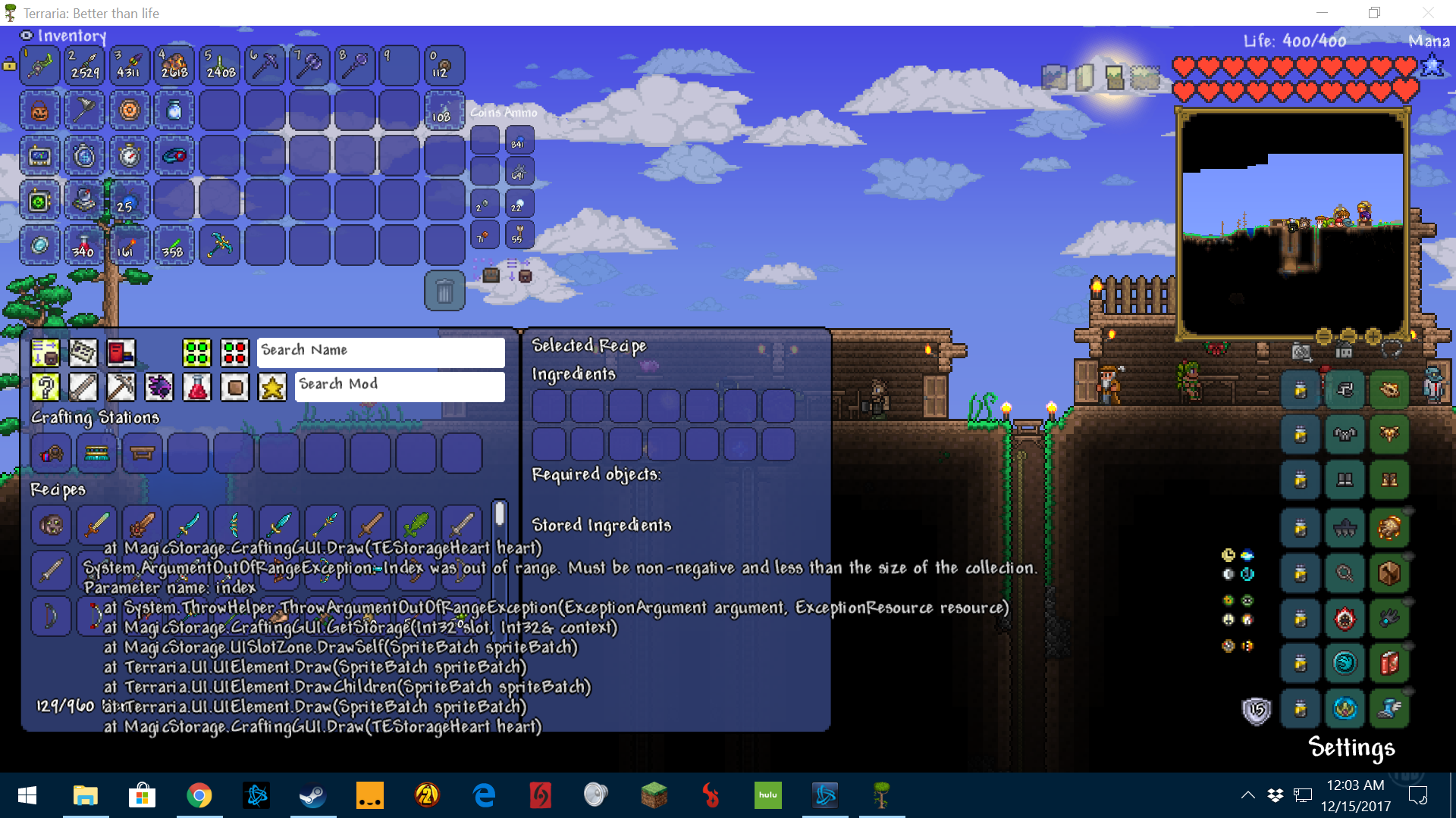 tModLoader - Magic Storage | Page 36 | Terraria Community Forums