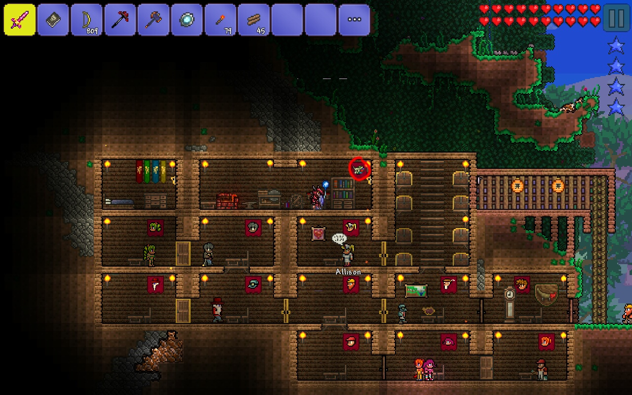 Npcs moving into non houses terraria community forums