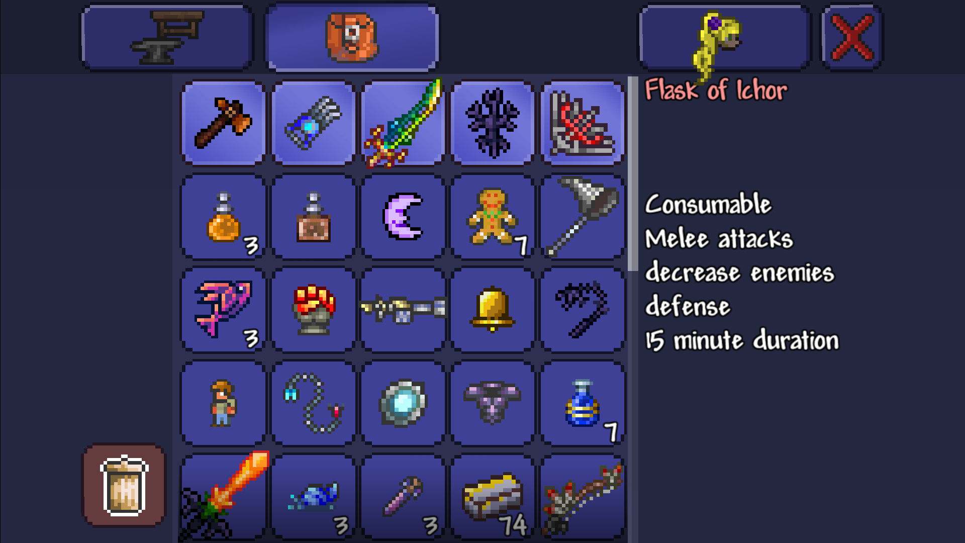 how to give items in terraria