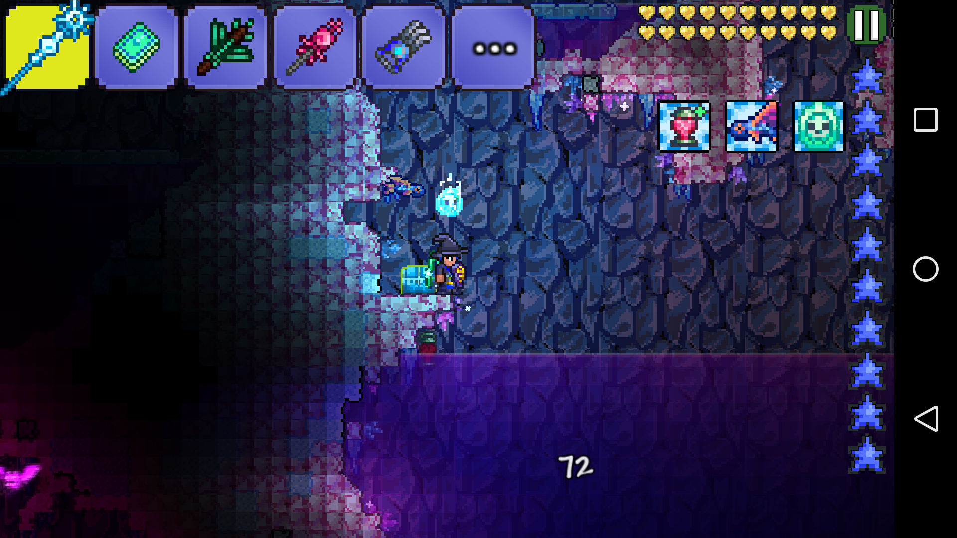 Terraria caught in caverns the best cave for Terraria fishing bait
