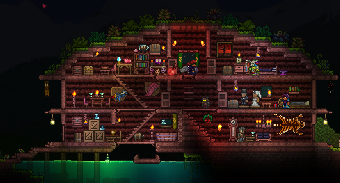 Anyway To Improve My Jungle House Terraria Community Forums