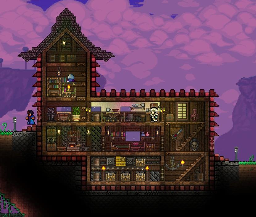 Fancy Minecraft Roof